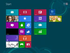 Windows 8 Start nakyma suomenkielisena