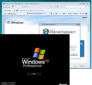 Windows XP ja IE8