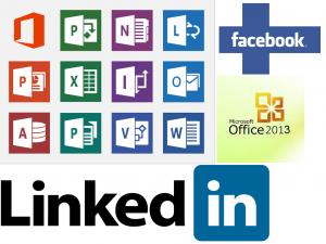 Office 2013 ja Facebook ja LinkedIn integraatio