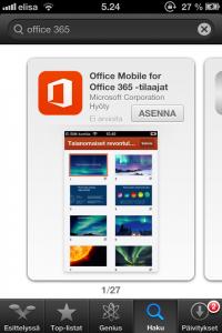 Office365-Appstoressa