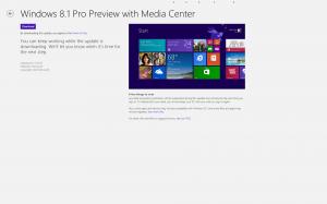Windows 8.1 Preview with Media Center - tervetuloa