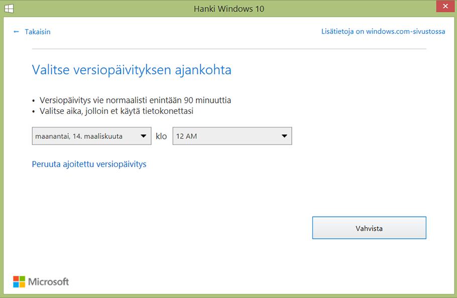 Windows-10-paivitysinfo ja_vaihtoehto_ajalle