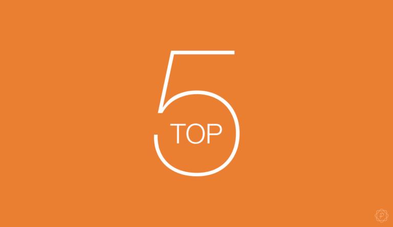TOP‑5 artikkelit vuonna 2019