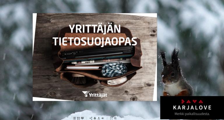 Yrittäjän tietosuojaopas 2018