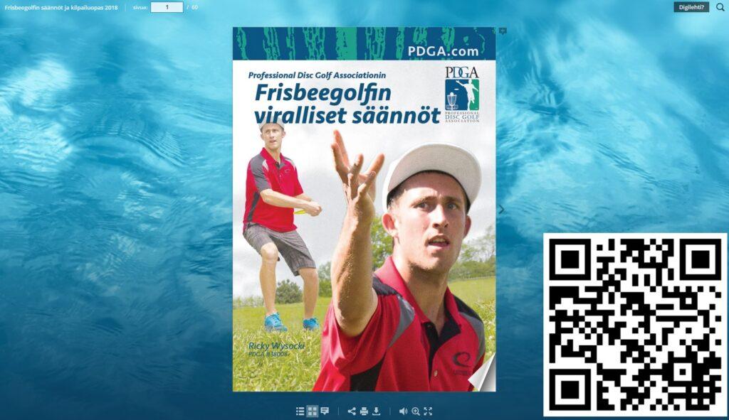 Frisbeegolfin säännöt ja kilpailuopas