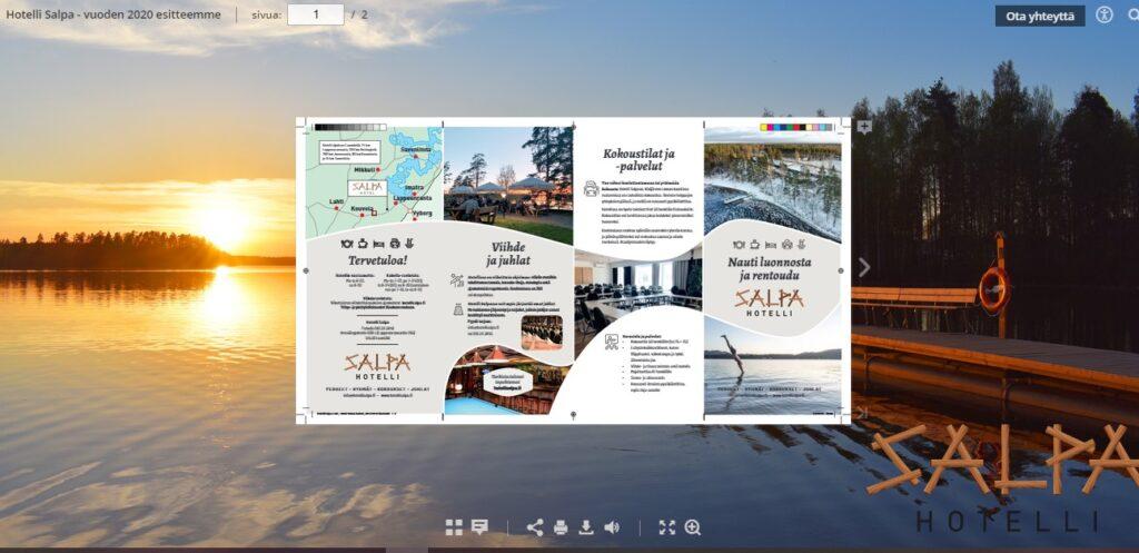 hotel Salpa – 2020 brochure in English