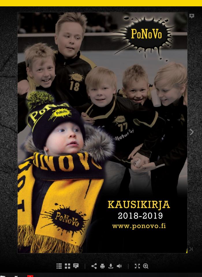 PoNoVo kausikirjat 2011 – 2018