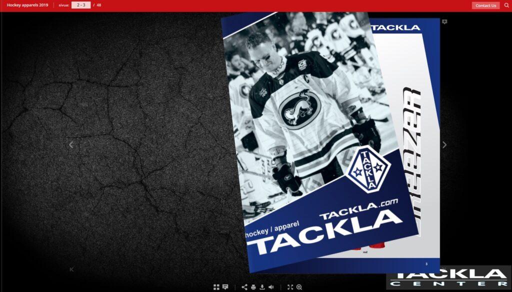Tackla hockey apparels 2019 – 2020